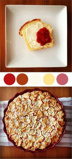 baked cherry cream pie recipe and brioche photos by Assemble