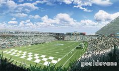 Renderings for the new Tulane Stadium. A true Home Field Advantage!