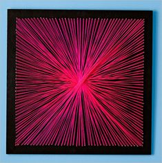 Do you want to try something easy peasy yet looking great for your home? If yes then here is a string wall art for you to try. Images Source: Lowe's To mak