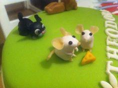 Prinsesstårta med möss, katt, hund, häst | Välkommen till min blogg!