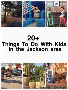20+ Things to Do with Kids in the Jackson Area | Family friendly indoor and outdoor activities to do in the Jackson, Madison Mississippi metro area | Bambini Travel