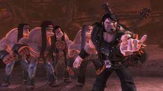 brutal legend   Brutal Legend – Yxor, elgitarrer och hotrods!