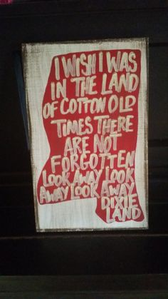 Mississippi Hand Painted Dixie Sign hotty toddy by RubyeBegonias