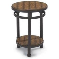Forest Glenn 6640-07 • Chairside Table • Flexsteel Furniture