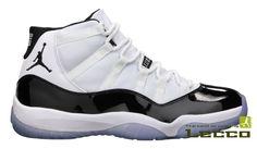 Обувь Мужские кроссовки Air Jordan 11 White/Black