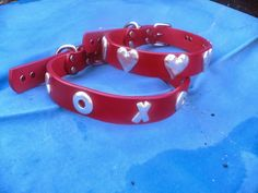 great dog collars from Dogla of Gig Harbor Washington & all about the Home for Life dogs for whom we bought them: http://www.homeforlifesanctuary.blogspot.com/2013/10/what-ever-happened-to-smokey-river.html