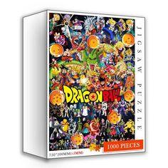 1000 Piece Dragonball Z Puzzles - puzzle 08