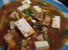 Learn how to make Xi Shi Tofu Soup from mother-daughter duo! These Hangzhjou recipes will make you hungry: http://n.pr/1hE5hnU #hangzhou #china #asia #travel #explore #cuisine #dishes #recipes #tofu