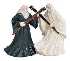 Gandalf & Saruman Salt n' Pepper Shakers