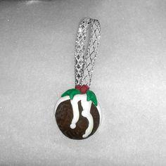 christmas pudding ornament  Christmas tree by Wishcraft2013, £3.00