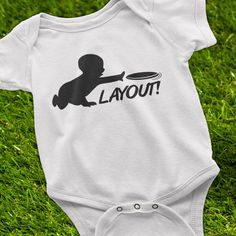 Ultimate Frisbee, Ultimate Frisbee Baby Onesie, Theres No Crying ...