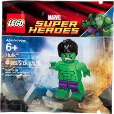 LEGO The Incredible HULK Minifigure Super Heroes 5000022 NEW #LEGO