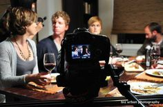 """On the set of """"Madchen"""", photo by Biz Urban"""