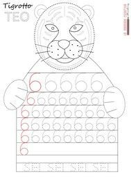Crafts,Actvities and Worksheets for Preschool,Toddler and Kindergarten.Lots of worksheets and coloring pages. Printable Preschool Worksheets, Preschool Math, Kindergarten Activities, Writing Numbers, Math Numbers, Preschool Painting, Math Work, Math For Kids, Kids Writing