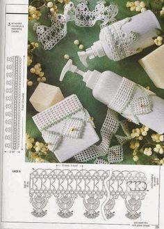 Barrados de Croche: Barrados de crochê