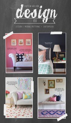 Caitlin Wilson | Design 101: Mixing Patterns