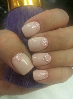 Pink and Pearls~ gel polish