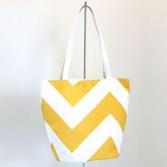 Yellow Chevron Bag - Shoulder Bags - Bags - Online Gift Shop - NewZealand Design & Gifts - Buy NZ Made Presents