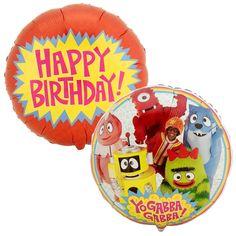 Yo Gabba Gabba! Foil Balloon from BirthdayExpress.com