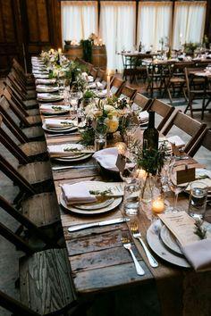 Urban Rustic Winery Reception   Kelly Williams, Photographer via Hey Wedding Lady