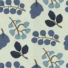 LOLA INDIGO - Floral/Foliage - Shop By Pattern - Fabric - Calico Corners