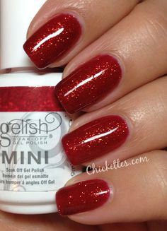 Gelish Good Gossip Swatch...ooh likey !!