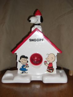 Snoopy SnoCone Machine in Bordard's Garage Sale in Denham Springs , LA for $1.00. Just place an ice cube in the Snoopy Sno-Cone Machine, and watch it transform into a delicious dessert with a few turns of the handle. Kids can even flavor their creations with their favorite juice or soda.  Does not have box or cups, just machine.