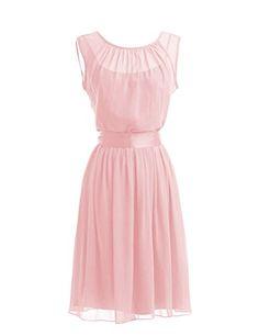Tidetell Intricate A Line Sheer Short Prom Bridesmaid Dresses 2015 Pink Plus Size 20W Tidetell http://www.amazon.com/dp/B00OEM95SI/ref=cm_sw_r_pi_dp_reszvb1X0DKE5