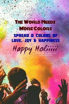 #Holi #holifestivalofcolours #holifestival   #festivalofcolors #indianfestival Good Night Qoutes, A Passage To India, Holi Wishes, Mahadev Quotes, Motivational Quotes, Inspirational Quotes, Happy Holi, Time To Celebrate, Education Quotes