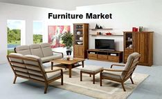 In this report, our team offers a comprehensive analysis of Furniture market, SWOT analysis of the most prominent players in this landscape. Along with an industrial chain, market statistics in terms of revenue, sales, price, capacity, regional market analysis, segment-wise data, and market forecast information are offered in the full study, etc. Wooden Living Room Furniture, Living Room Chairs, Home Furniture, Furniture Design, Furniture Ideas, Deco Furniture, Furniture Vintage, Farmhouse Furniture, Repurposed Furniture