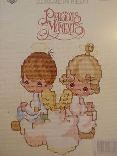 Cross Stitch Patterns - PRECIOUS MOMENTS - But Love Goes On Forever - 18 Designs
