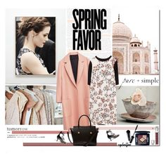 """""""Spring favor"""" by cybelfee ❤ liked on Polyvore featuring Zara, Valentino, Ted Baker and Christian Dior"""