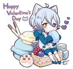 Kawaii Chibi, Cute Chibi, Kawaii Anime, Anime Girl Drawings, Manga Drawing, Manga Art, Blueberries Muffins, Slender Girl, Dibujos Anime Chibi