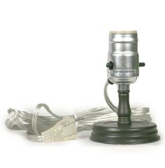 Want to make your own mason jar table lamp? This adapter will do the trick! This adapter will fit regular mouth mason jars and convert them to lamps. Standard light bulb and lamp shade not included. O