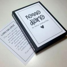 DIY: Nosso Diário de Bons Momentos #cartasromanticas