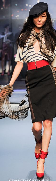 Spring 2014 Ready-to-Wear Jean Paul Gaultier   The House of Beccaria#