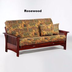 Autumn Hardwood Futon Full Package by Night & Day