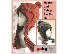 This listing is for a ***PDF KNITTING PATTERN ONLY*** not the finished item.    This is a beautifully textured hat pattern and so in right now.
