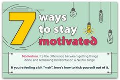 Infographic: How to stay motivated at work | Articles | Main