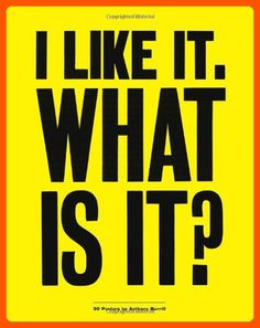 I Like It. What is it?: 30 Detachable Posters - Fun stuff and gift ideas (*Amazon Partner-Link)