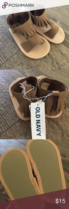 NWT old navy fringe sandals 12-18 months NWT old navy fringe sandals 12-18 months Old Navy Shoes Sandals & Flip Flops