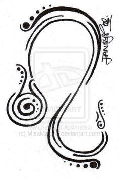 Leo Zodiac Tattoos for Men   Leo by MisaMalone on deviantART