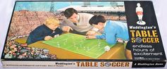 This really was a fancy game of soccer themed tiddly winks but place it on the table and we were away in our own Wembley world. Soccer Games, Old Games, Childhood Toys, Vintage Toys, Growing Up, Football, Baseball Cards, Fancy, Ebay