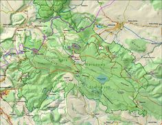 Park Narodowy Gór Stołowych - mapa