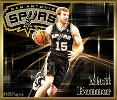 NBA player edit - Matt Bonner