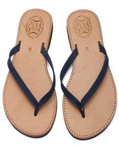 Aᴛᴇʟɪᴇʀ 1935 | Pᴀʀᴏꜱ     --- Poros model | Leather  #sandals #summer 2018 #madeingreece Leather Sandals, Dame, Flip Flops, Take That, Summer, Model, Shoes, Black, Fashion
