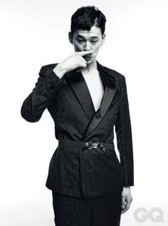 kim wonjoong for gq magazine march issue 2014 Kim Won Joong, Gq Magazine, Korean Model, Suit Jacket, Suits, Jackets, How To Wear, Fashion Design, Shopping