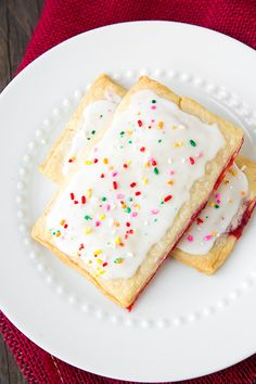 Homemade Pop Tarts - I wanted to eat five of these they're so good!