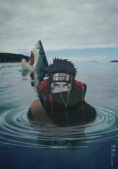 The deep sea. What a scary place to be. 😵 (Oh, Hi there Kisame 😁) Anime Naruto, Boruto, Naruto Shippuden Sasuke, Naruto Meme, Anime Akatsuki, Naruto Fan Art, Wallpaper Naruto Shippuden, Naruto Wallpaper, Itachi Uchiha