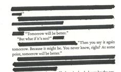 mañana será mejor